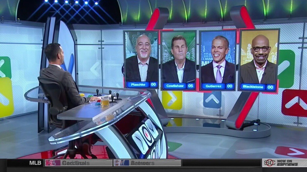 'Around The Horn' Screen Grab for July 11, 2014 – seidman.org